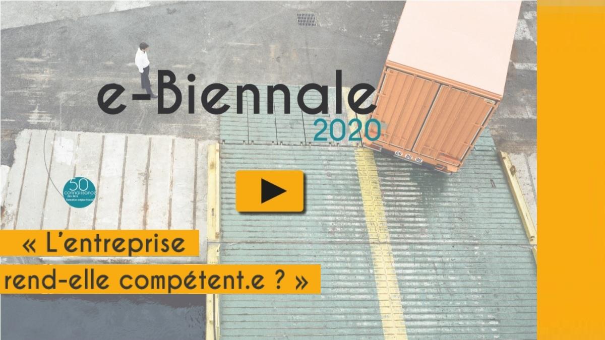 Biennale en ligne du Céreq 2020